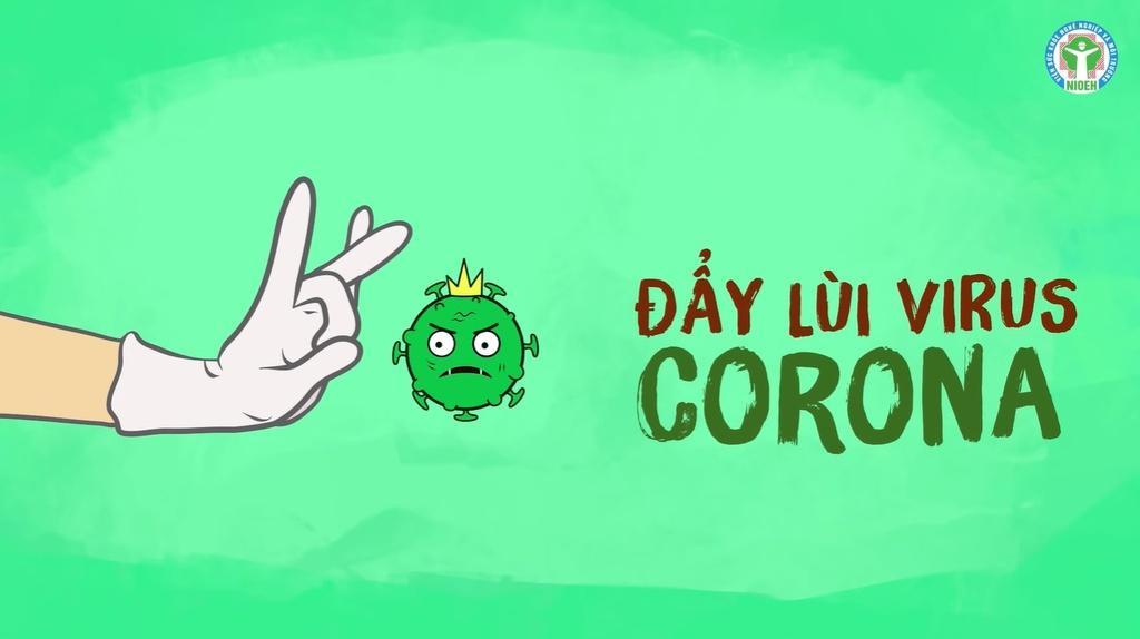 """CHIẾN DỊCH """"ĐẨY LÙI COVID-19!"""""""