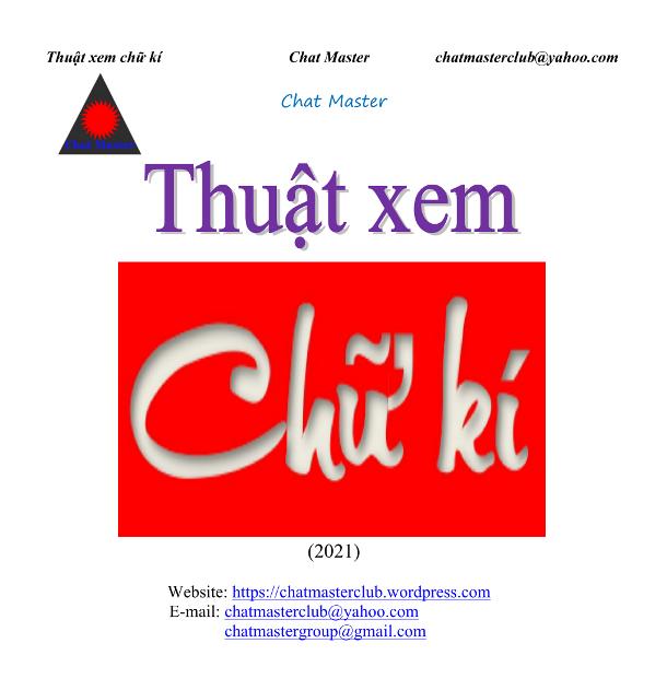 Cuốn sách Thuật xem chữ kí (2021)